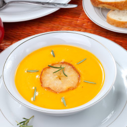 Meredith McCarty's Squash and Apple Soup (Vegan)