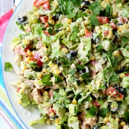 Mexican Chopped Tuna Salad