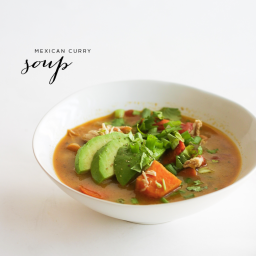 Mexican Curry Whole30 Soup