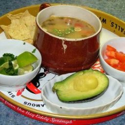 Mexican Lime Soup (Sopa De Lima)