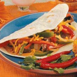 Mexican Steak Fajitas Recipe