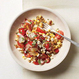 Mexican Broiled Corn Salad