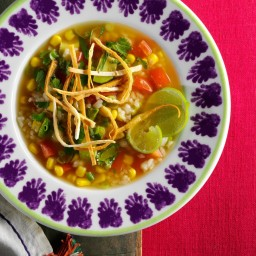 Mexican Rice Soup