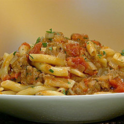 Michael Symon's Fresh Rigatoni with Chorizo