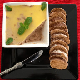 Microwave Bacon and Chicken Liver Pate