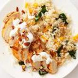 Middle Eastern Chicken and Rice