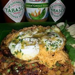 Mike's Green Chile Hangover Hash