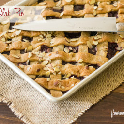 Mini Cherry Slab Pie