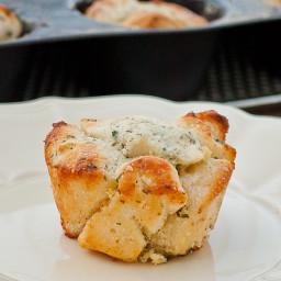 Mini Garlic Monkey Breads