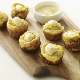 Miniature Potato & Sweet Onion Tortillas with Saffron Aioli Recipe