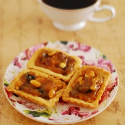 Mini Caramel Fudge Tarts
