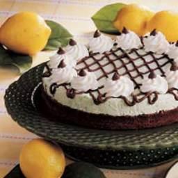 Mint Brownie Pie Recipe