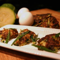 Minted Zucchini Fritters