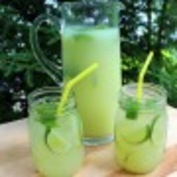 Minty Limeade from Scratch