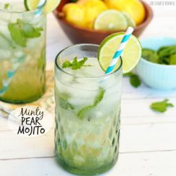 Minty Pear Mojito