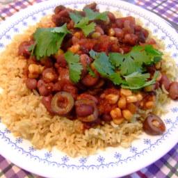 Mixed Bean Chili (Vegan)