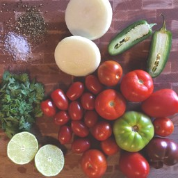 Mixed Tomato Salsa