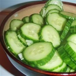 Mom's Cucumbers