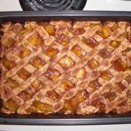 Mom's Peach Cobbler