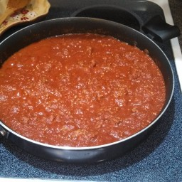 Mom's Spaghetti with Meat Sauce