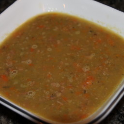 Mom's Split Pea and Ham Soup