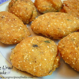 Moong Urad Dal Vada Recipe
