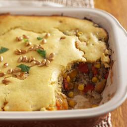 Moroccan Beef and Pumpkin Bake