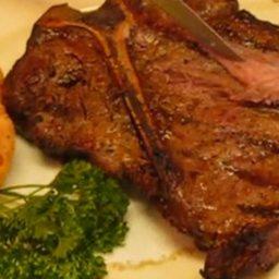 Mouth-watering Grilled T-bone Beef Steak