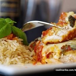 Mozzarella-parmezan pileca prsa!