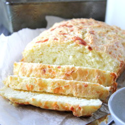 Mozzarella and Parmesan Buttermilk Quick Bread