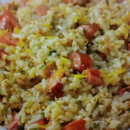 ( MPC ) Risotto with Andouille Sausage