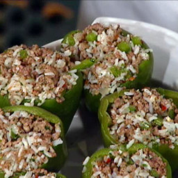 Mr. John's Meat-Stuffed Bell Peppers
