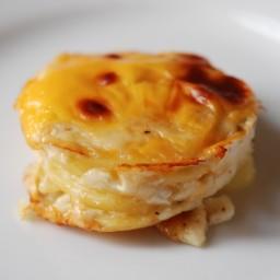 Muffin Tin Potato Gratins