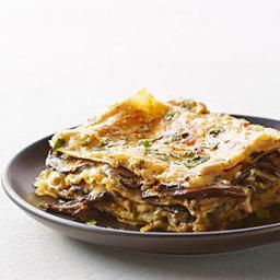 Mushroom and Fresh Herb Lasagna