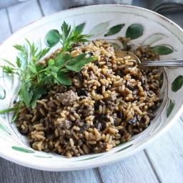 Mushroom Dirty Rice