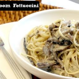 Mushroom Fettuccini