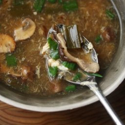 Mushroom Hot And Sour Soup