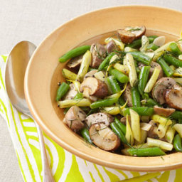 Mushroom and String Bean Salad
