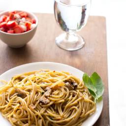 mushroom spaghetti bolognese recipe