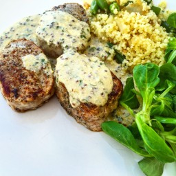 Mustard and Tarragon Pork Steaks