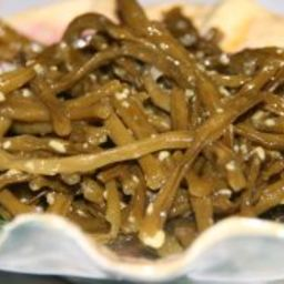 Mustard-Pickled Beans