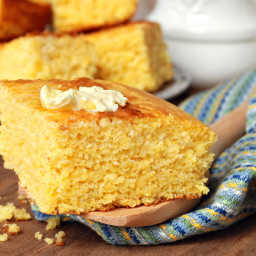 My Favorite Golden Cornbread