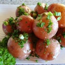 New Potatoes with Caper Sauce