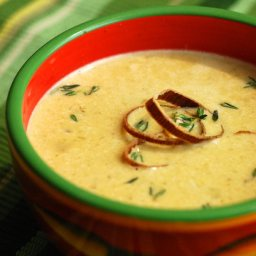 Nibble Me This Artichoke & Spinach Bisque