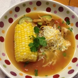 Niki's Version of Pappasito's Tortilla Soup