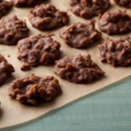 No bake Chocolate Oatmeal Peanut Butter Cookies