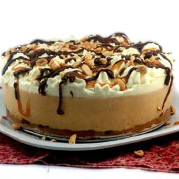 No-Bake Creamy Deep Dish Peanut Butter Pie