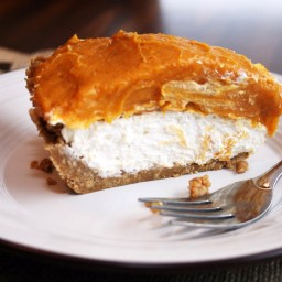 No-Bake Double Layer Pumpkin Pie