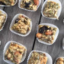 No Bake Fruit and Nut Protein Bites