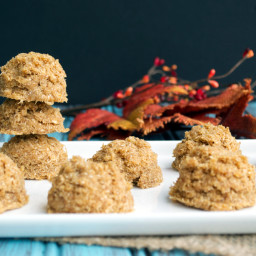 No Bake Paleo Pumpkin Cookies